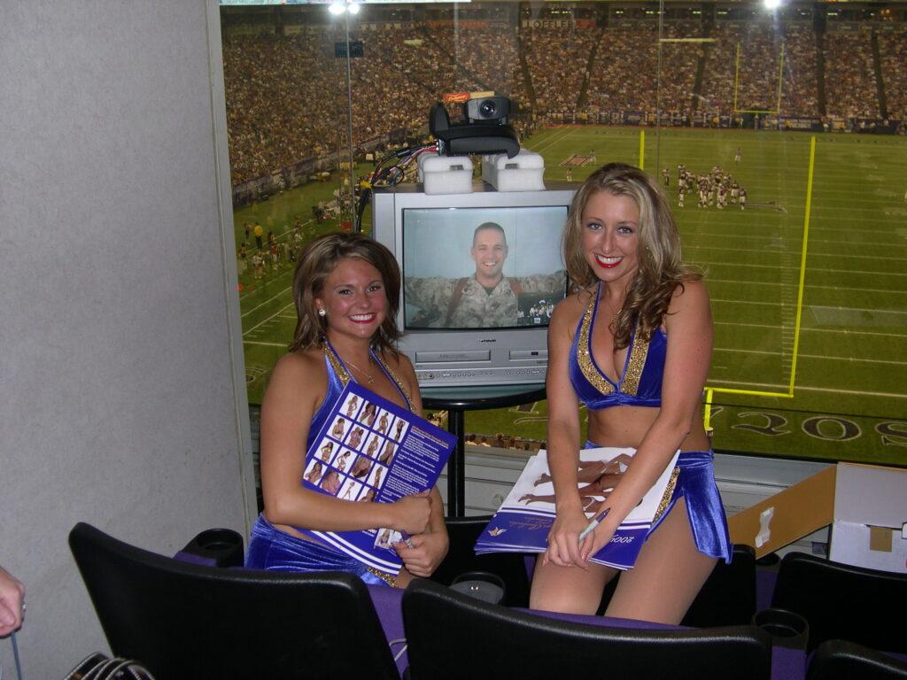 Post 9/11 memories - Minnesota Vikings cheerleaders