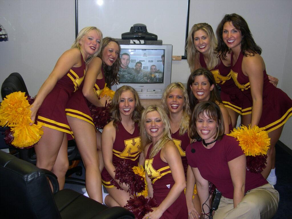 Post 9/11 memories - Minnesota Gophers cheerleaders